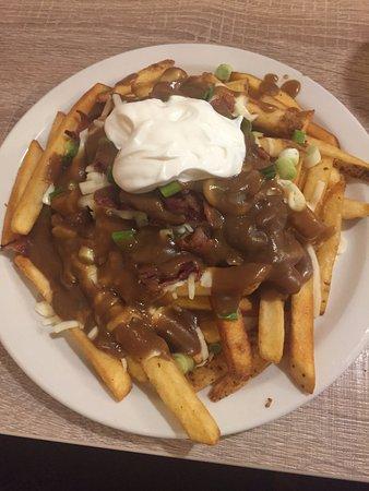 Lillooet, Kanada: Baked potato poutine