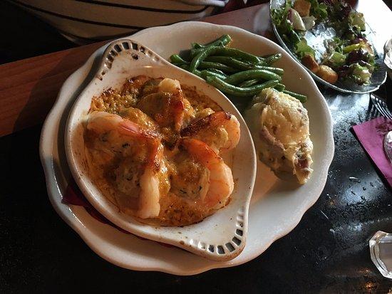 Fireside Tavern: Crab stuffed shrimp