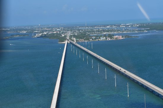 Marathon Shores, FL: Pont vers KEY WEST..