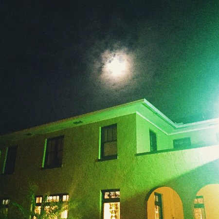 Full Moon over Hotel Cassadaga