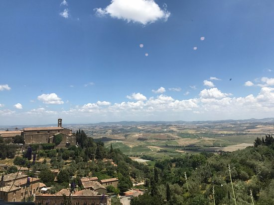 Pienza, Italy: View From Bar Belvedere