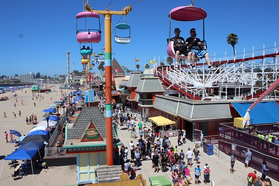 Santa Cruz Beach Boardwalk Sky Glider