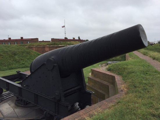 Fort McHenry National Monument: Walking around the Fort.