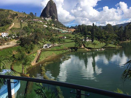 Hotel Los Recuerdos: the room had a perfect view