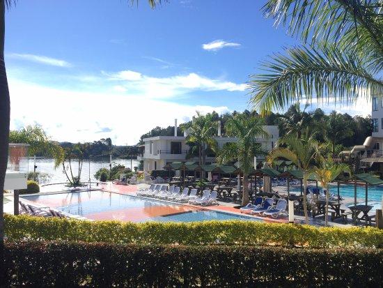 Hotel Los Recuerdos: the main pool area, restaurant, games, etc.