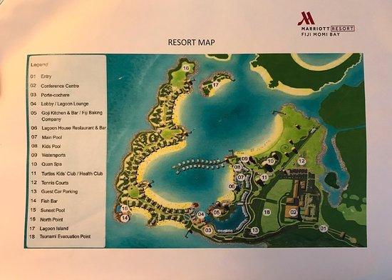 Layout Of Momi Marriott Picture Of Fiji Marriott Resort Momi Bay