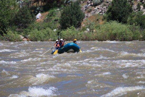 Gardiner, MT: siblings taking on the rapids