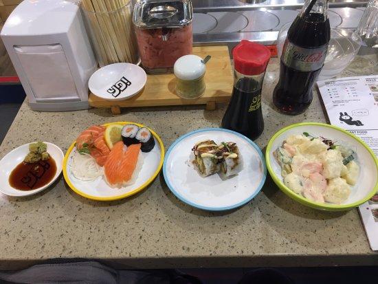 Yo! Sushi: Sushi