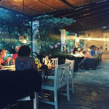 Sveti Klement Island, Croatia: A beautifully designed pension and restaurant. From food to wine to art, everything has been loc