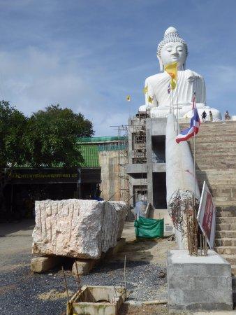 Chalong, Tailandia: Big Buddha Phuket  - Es wird noch gebaut... (work in progress)