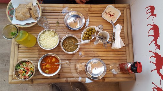 Dimona, Israel: Our Shepherds meal all vegetarian and very tasty