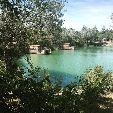 Cadenet, França: Les Cabanes sur le lac