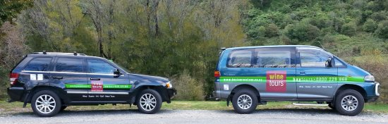 Nelson, Nouvelle-Zélande : Two of our comfortable vehicles.