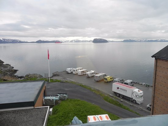 Hammerfest, Norge: View from the room