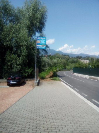Province of Varese, Italie : Parcheggio Ristorante Lo Scoglio