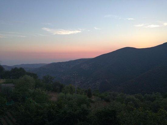 Serramezzana, Italien: panorama dal balconcino