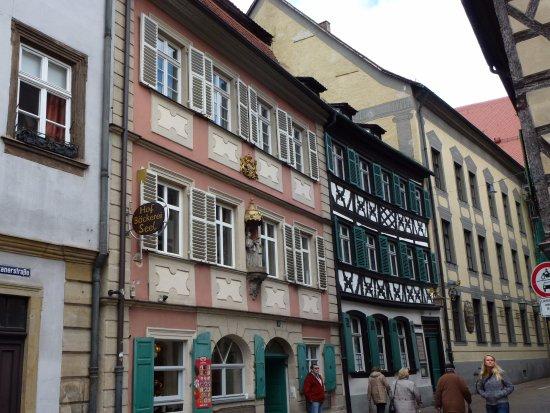 Bamberg Altstadt : Прогулка по улочкам Бамберга...