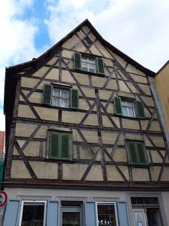 Bamberg Altstadt : Фахверк также присутствует!!!