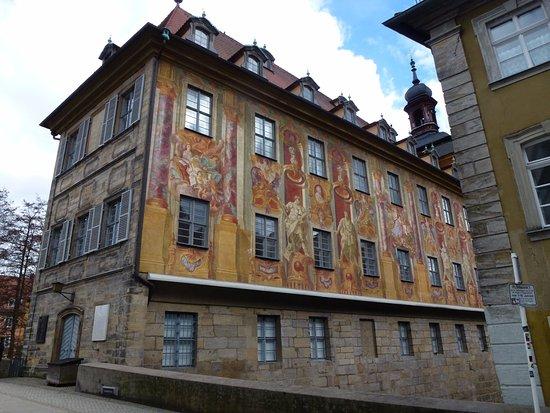 Bamberg Altstadt : Какая волшебная стеновая роспись!!!