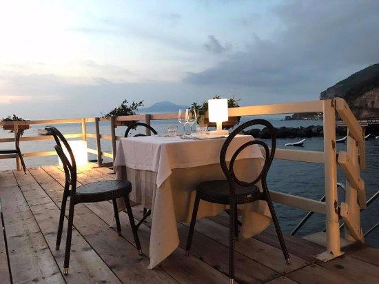 ristorante antico bagno sulla spiaggia - Picture of Astoria Vico ...
