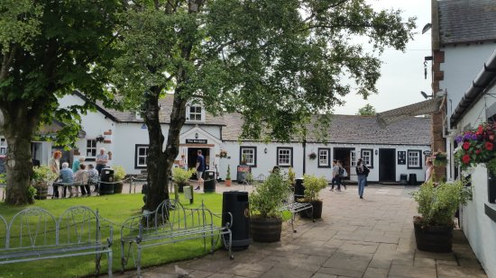Gretna Green, UK: on the green to the left