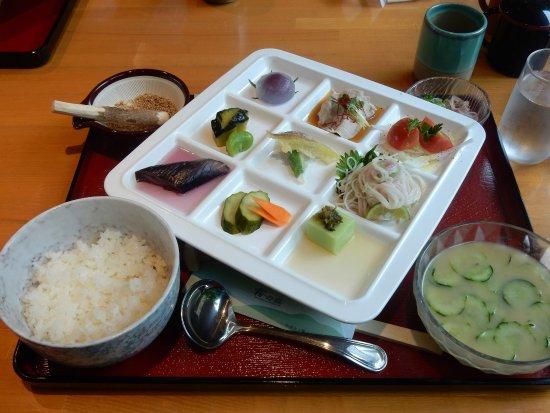 Shikokuchuo, Japan: 10食限定のランチ