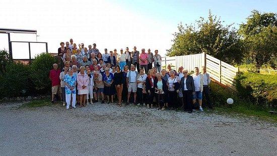 Tour-de-Faure, ฝรั่งเศส: nous avons réservé l'hôtel pour un groupe de 54 personnes pour la nuit du 24 au 25 juin 2017