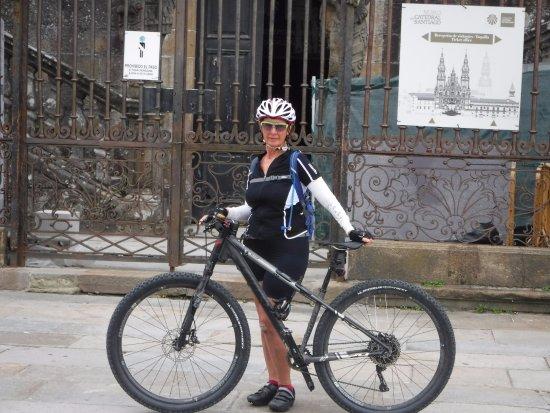 Bikeiberia Bike Tours & Rentals: Arriving in Santiago