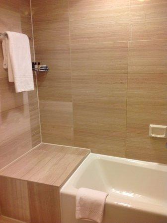 The Fairfax at Embassy Row, Washington, D.C.: Step in, over bath shower