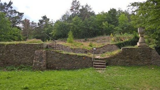 Kutná Hora, Česká republika: Ruins of Sion castle