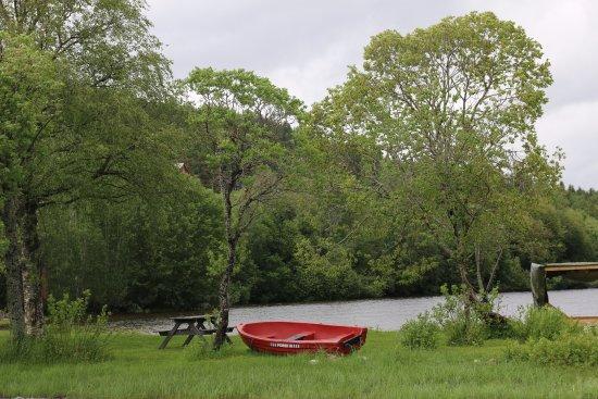 Steinkjer, Noruega: Utemområde sitteplass