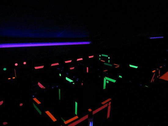 Kinshasa, Democratic Republic of the Congo: Yoda Laser Game Labyrinthe 5