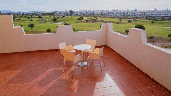 Retamar, Espanha: Terraza habitación