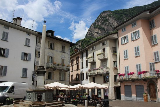 Splugen, Switzerland: Chiavenna old part