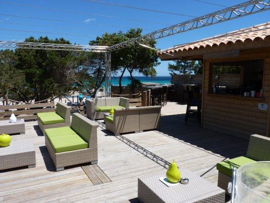 Chez ange restaurant de la baie de rondinara bonifacio for Restaurant bonifacio port