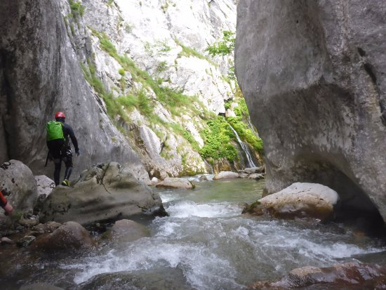 Foca, Bosnien und Herzegowina: Canyoning Bosnia, National Park Sutjeska