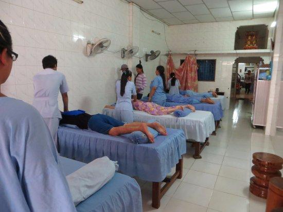 Battambang, Camboya: massage time