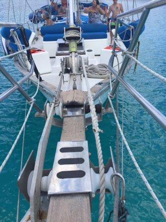 bahía de Simpson, St. Maarten: The view from the Bowsprit