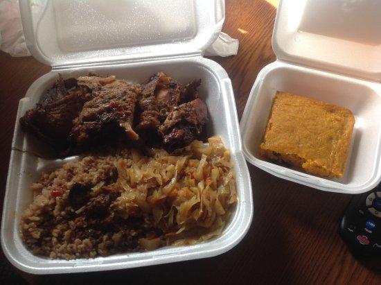 Junction City, KS: Jerk Chicken, with Jamaican Carrot Cake