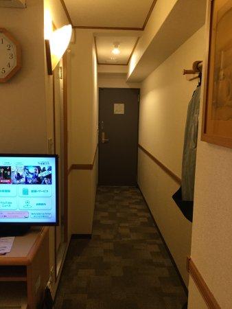 Nishigo-mura, Japan: ELV脇の部屋は廊下があります