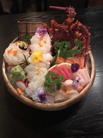 Stonnington, Australia: Extremely fresh Lobster sashimi 😋😋😋 available preorder @wagyu_ya 🤗