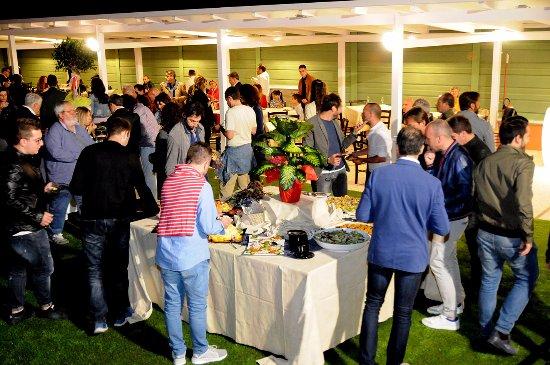 Trevi, Italy: Cena di inaugurazione