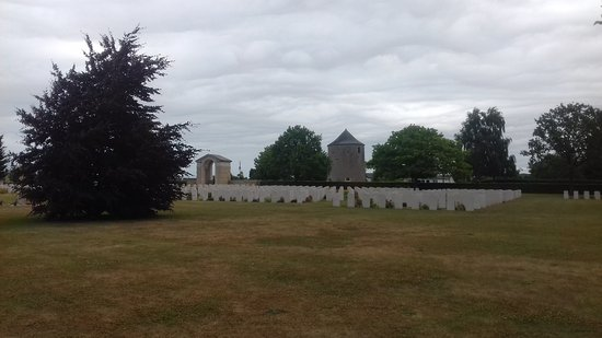 Ranville War Cemetery Photo