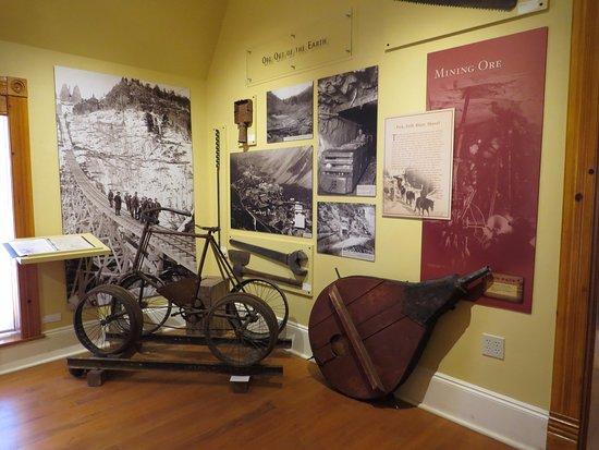 Telluride Historical Museum exhibit