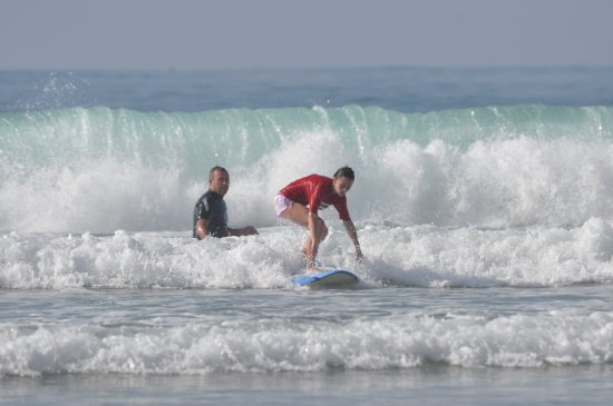 Margate, Южная Африка: Get stoked, do a surf lesson with Surf Action.