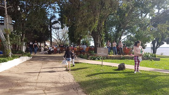 Paso de la Patria, Argentina: Ingresso al ristorante
