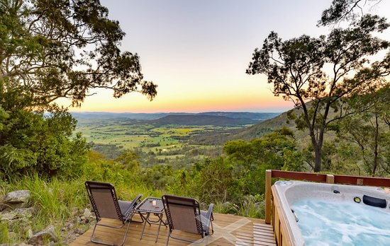 Vacy, Australien: View from Jabiru Spa Cabin