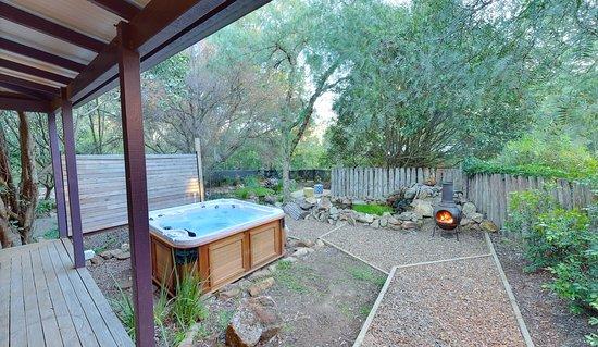 Vacy, Australia: Tallarook garden view