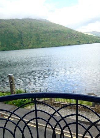 Leenane Hotel: View of Killary Harbour from a front room