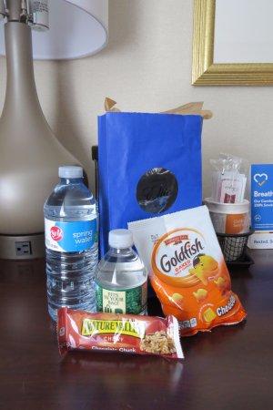Auburn, MA: Welcome bag for members